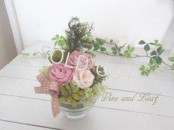 画像1: 苔と木々と花のアレンジ(C)〜結婚祝いや開店祝いなどに…ずっと咲き続けるお花〜